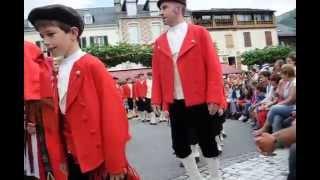 Fête de Laruns (64) - 15 août 2015 - Danse traditionnelle (2)