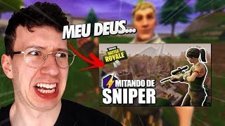 REAGINDO AO PRIMEIRO VÍDEO DO CANAL! - FORTNITE