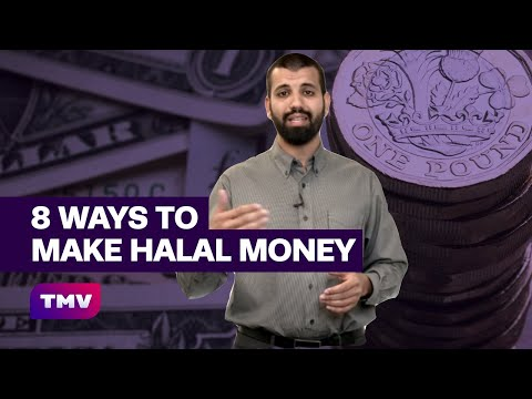 Friday Reminder - 8 halal ways to make money