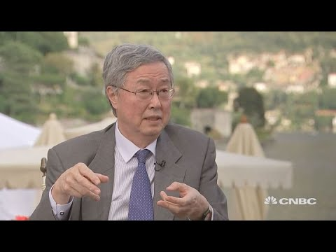 Former PBOC governor: No currency manipulation in China | Ambrosetti 2018