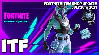 Fortnite Item Shop *RARE* BREAKPOINT IS BACK + *RARE* SET [July 26th, 2021] (Fortnite Battle Royale)