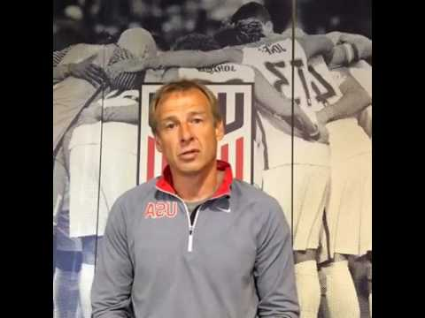 Jürgen Klinsmann: Here to take your questions ahead of the h