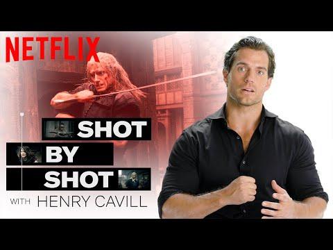 Henry Cavill Breaks Down The Blaviken Fight Scene Shot By Shot | The Witcher | Netflix