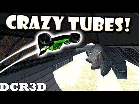 CRAZY TUBE MAP RACE! (DCR3D Best Creations) - Dream Car Racing 3D Gameplay Ep30