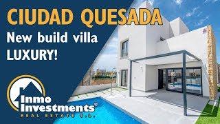 New build luxury villas in Ciudad Quesada, Costa Blanca, Spain