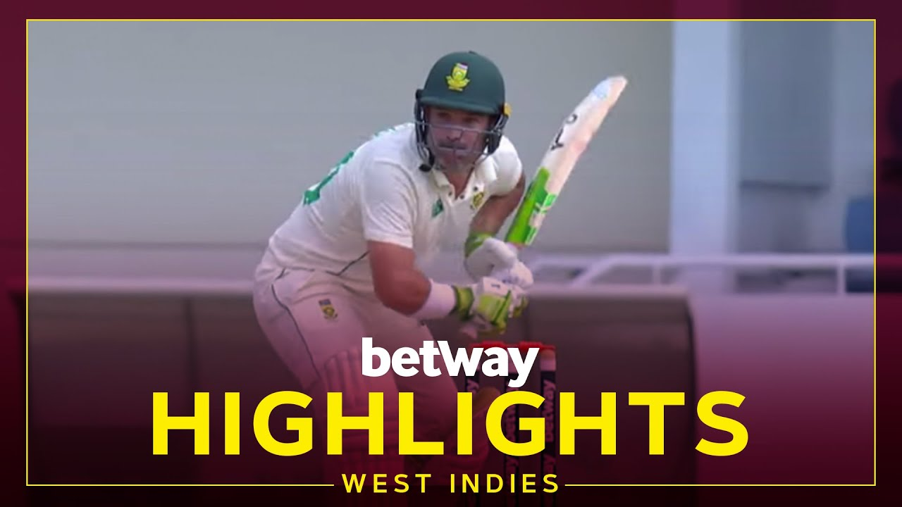 Download Highlights | West Indies vs South Africa | SA Recover After Shaky Start | 2nd Betway Test Day 1 2021