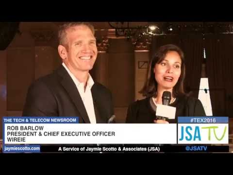 WireIE CEO, Rob Barlow interview with JSATV at Telecom Exchange 2016 NYC