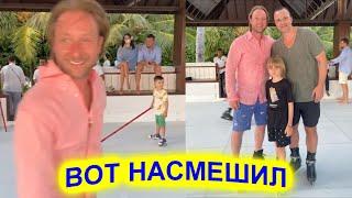 А ведь был великим фигуристом Над Плющенко смеются после мастер класса на пластиковом катке
