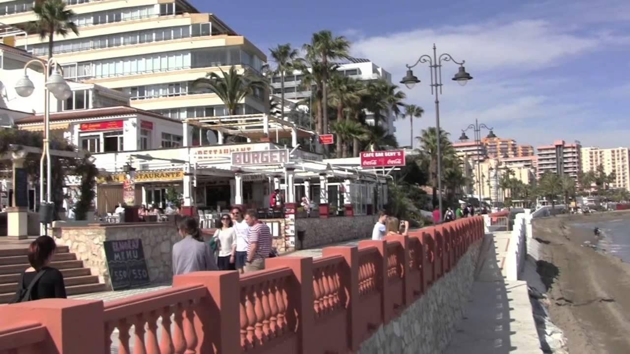 A Walk From Benalmadena To Torremolinos Costa Del Sol Spain 8th April 2013