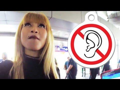 Approaching DEAF Thai Girl? Short & Interesting Interaction
