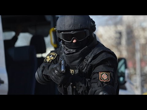 Russian Special Police OMON vs Illegal Bankers   Armored Building   Tactical SPE
