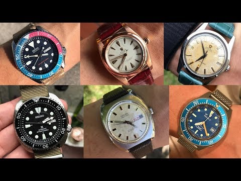 two-seikos-one-rolex-bubbleback-an-omega-seamaster-collection-review