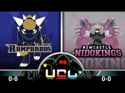 StL Rampardos VS Newcastle Nidokings [UCL S1W1] Pokemon Omega Ruby & Alpha Sapphire LIVE WIFI Battle