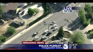 Police Chase   THOUSAND OAKS, Calif  NEW APRIL 2013