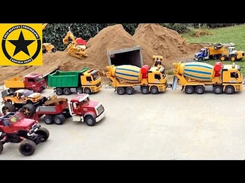 BRUDER TOYS Tunnel Project LONG PLAY all Episodes FULL LENGHT plus BONUS MATERIAL!