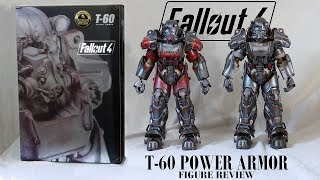 Fallout T-60 power armor figures by Threezero - Exclusive Atom Cats & regular - Unboxing & Review