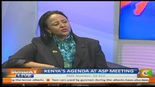 Interview with CS Amina Mohammed on International Trade