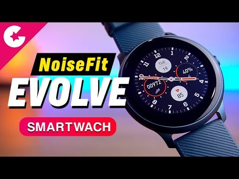 NoiseFit Evolve Smartwatch with AMOLED Display - Unboxing and Hands On!!