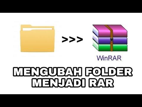 Cara Mengubah File Folder Menjadi Rar Zip Di Pc Youtube