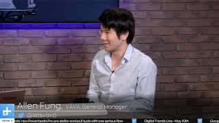 VAVA 4K Laser Projector | Digital Trends Live Interview with Allen Fung