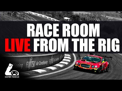 RACE ROOM RACING SIMULATOR - MULTIPLAYER - LIVE FROM THE RIG