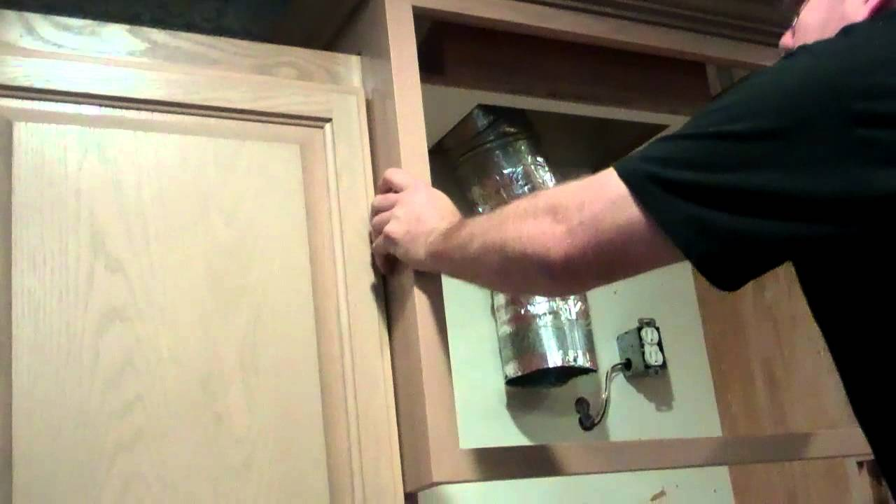 Cabinet Modification - YouTube