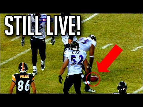 """NFL """"THE PLAY IS STILL LIVE!"""""""