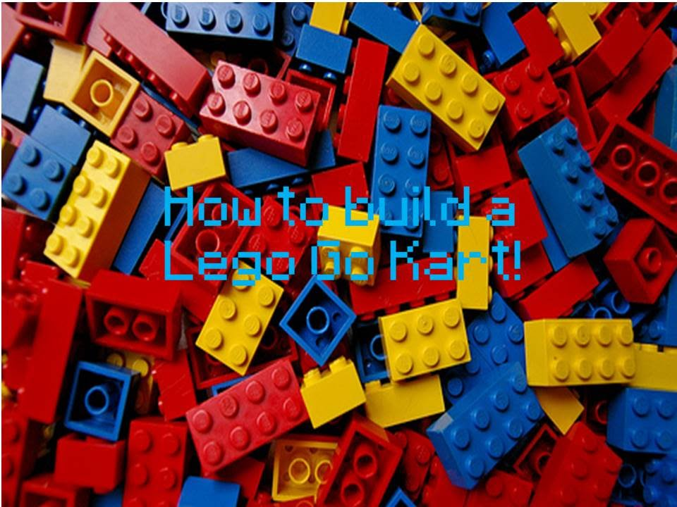 Lego Instructions How To Build A Lego Go Kart Youtube