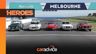 Alfa Romeo Giulia and the 105: Targa Florio Australian Tribute
