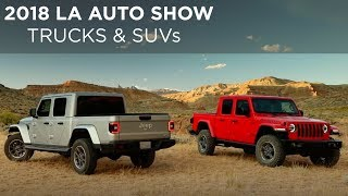 2018 LA Auto Show | Top SUV Reveals | Jeep Gladiator | BMW X7 | Driving.ca
