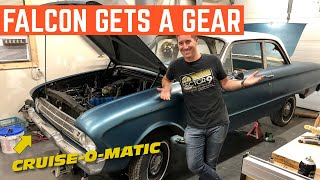 Giving This 61 Ford Falcon HIGHWAY LEGS *3 Speed Transmission SWAP*