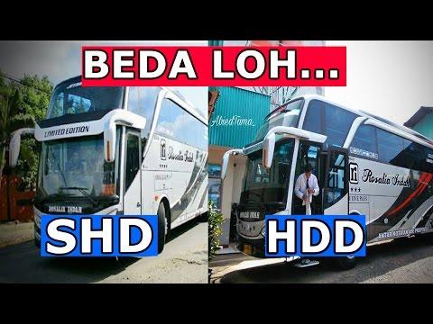 Cara Membedakan Body HDD dengan SHD Karoseri AdiPutro