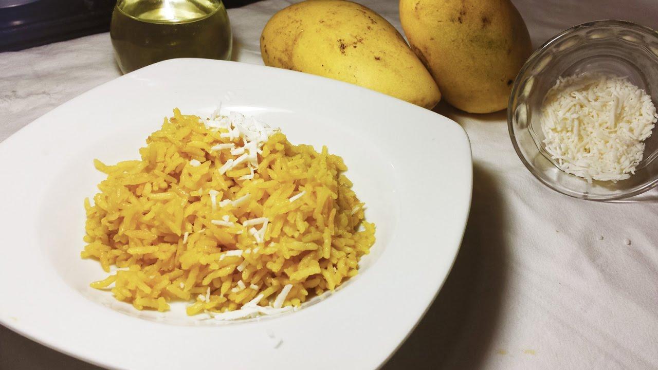 Cocinar arroz con mango facil y sencillo youtube for Cocinar con mango