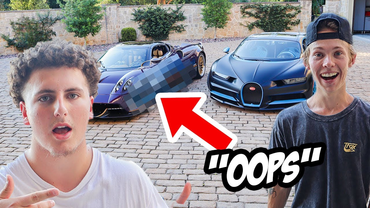 Download LETTING TANNER FOX DRIVE OUR HYPERCARS (bad idea..)