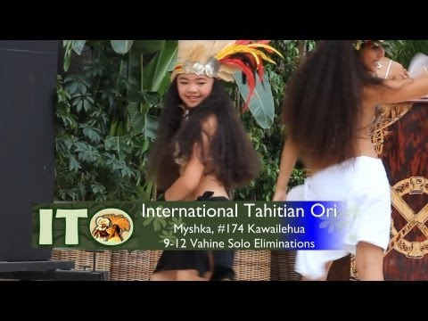 2013 International Tahitian Ori Competition, #174 Myshka, Solo Eliminations