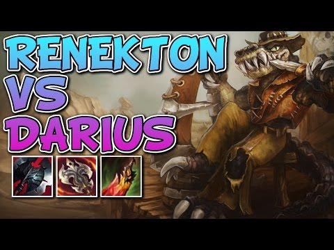WHO SAYS RENEKTON'S LATE GAME SUCKS? RENEKTON VS DARIUS - Unranked to Masters #109