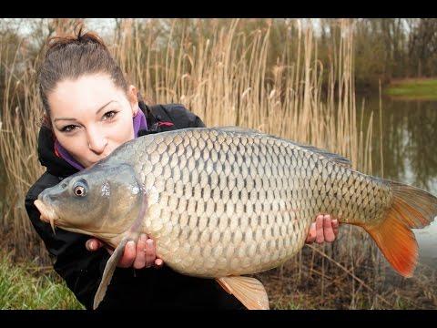 Карпфишинг с Сабриной Штейнмец - Страсть по рыбалке