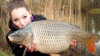 Karpfenangeln mit Sabrina Steinmetz - Passion Fishing