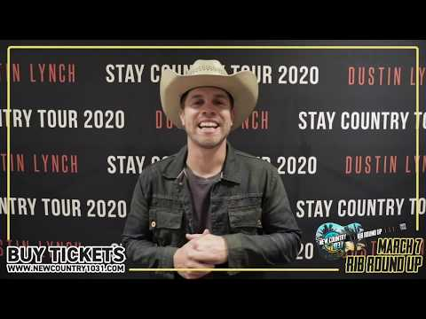 Join Dustin Lynch at Rib Round Up 2020