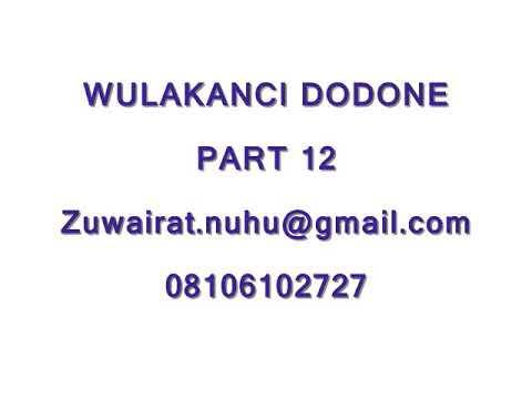Wulakanci Dodone Part 12