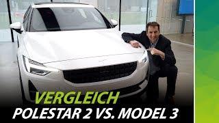 Echte Konkurrenz? Test Drive Polestar 2 vs. Tesla Model 3