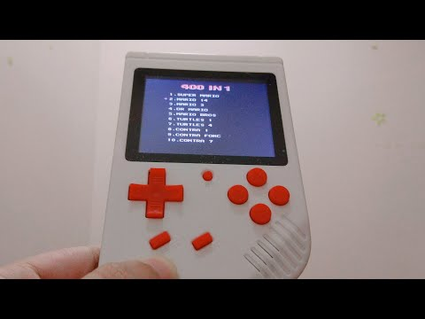 List Games for Retro FC Handheld Console - 동영상