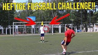 Heftige euro 2016 fussball challenge + krasse bestrafung!!