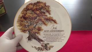Vintage Collectible 1980's Decorative Plates Collection