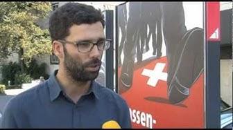 SVP Plakate Schaffhausen weiss übermalt von Andi Kunz und Christoph Schmutz