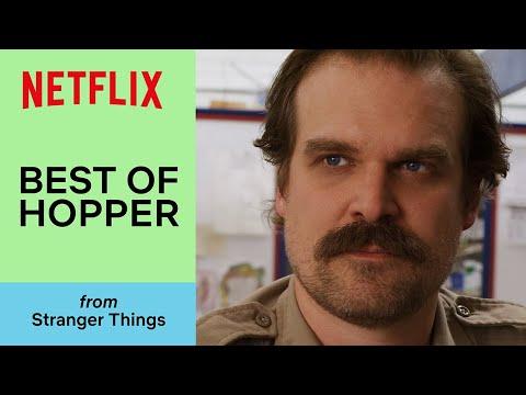 All of Hopper's Best Moments in Stranger Things   Netflix
