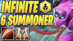 6 SUMMONER! (INFINITE SUMMON!) - Teamfight Tactics TFT Ranked Strategy Best Comps Guide SET 2 Meta