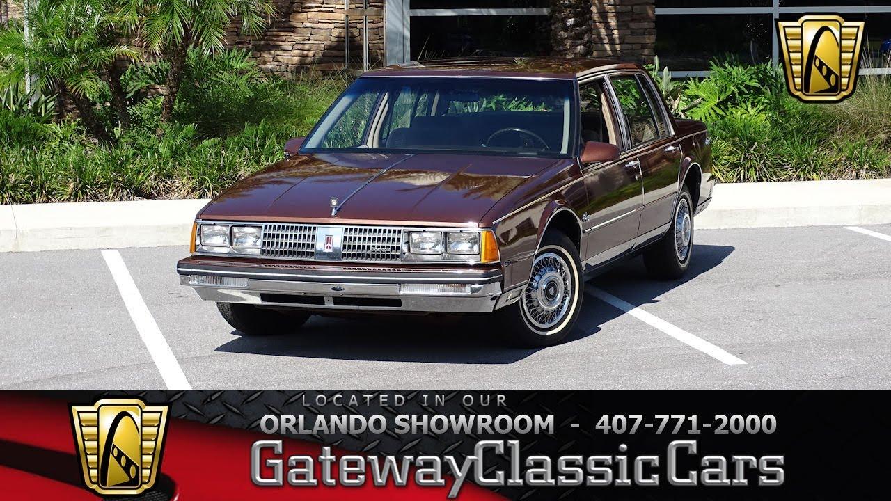 1985 Oldsmobile 98 Regency Brougham Gateway Orlando 1260 Youtube 1941 Ninety Eight