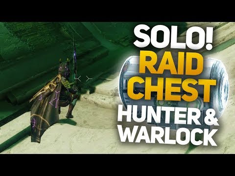 Garden of Salvation First Raid Chest Solo - HUNTER & WARLOCK GUIDE (Destiny 2 Shadowkeep)
