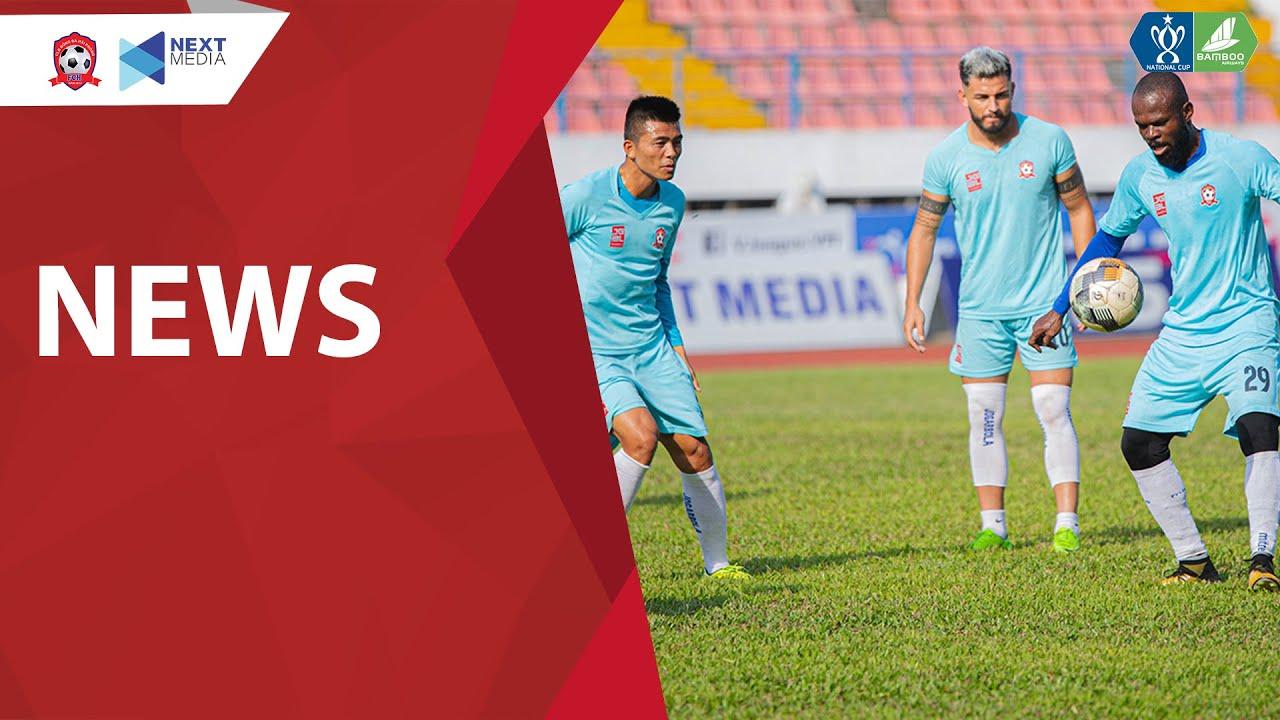Hải Phòng FC luyện công dưới nắng 40 độ C trước trận Đồng Tháp | Cúp Quốc gia 2020 | Hải Phòng FC